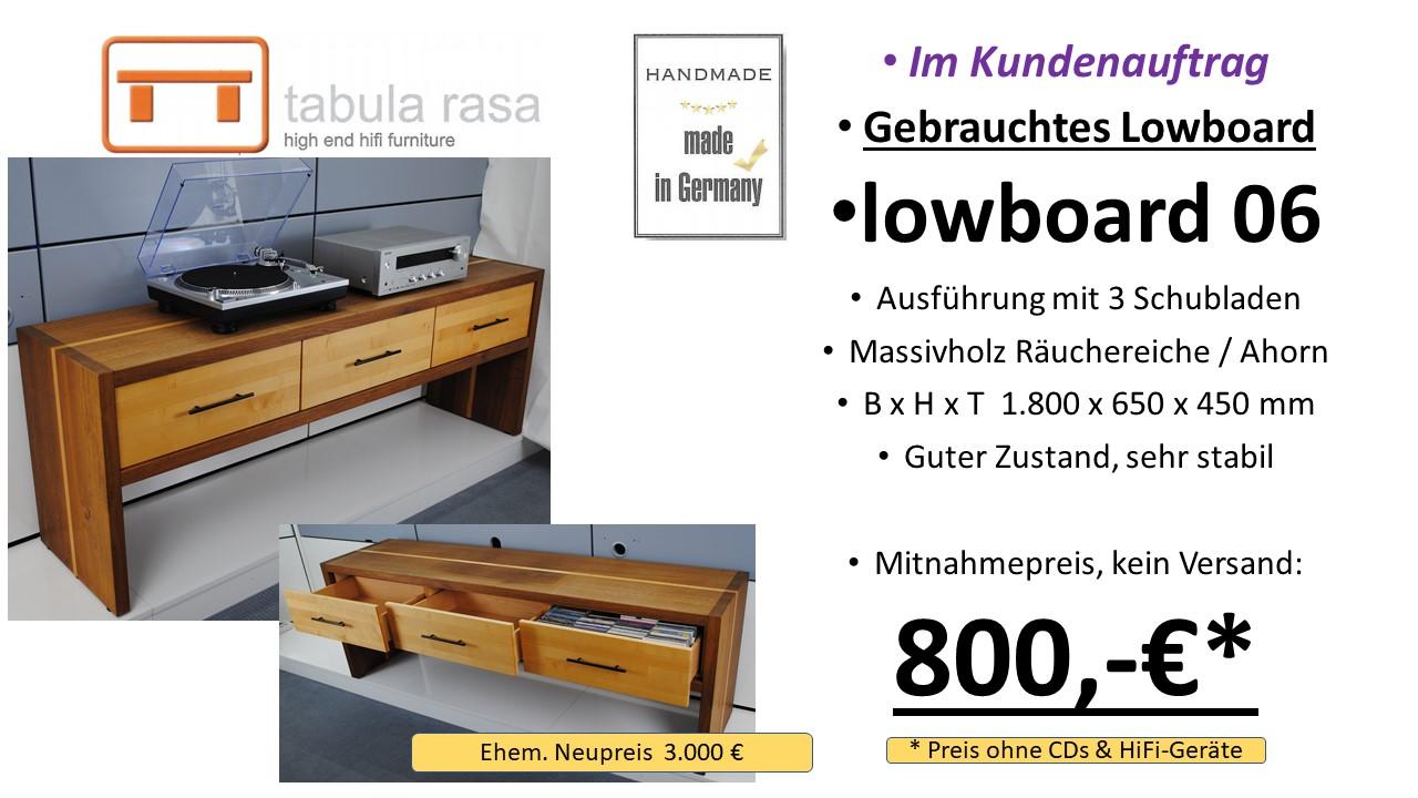 tabula rasa lowboard 06 HiFi TV Möbel