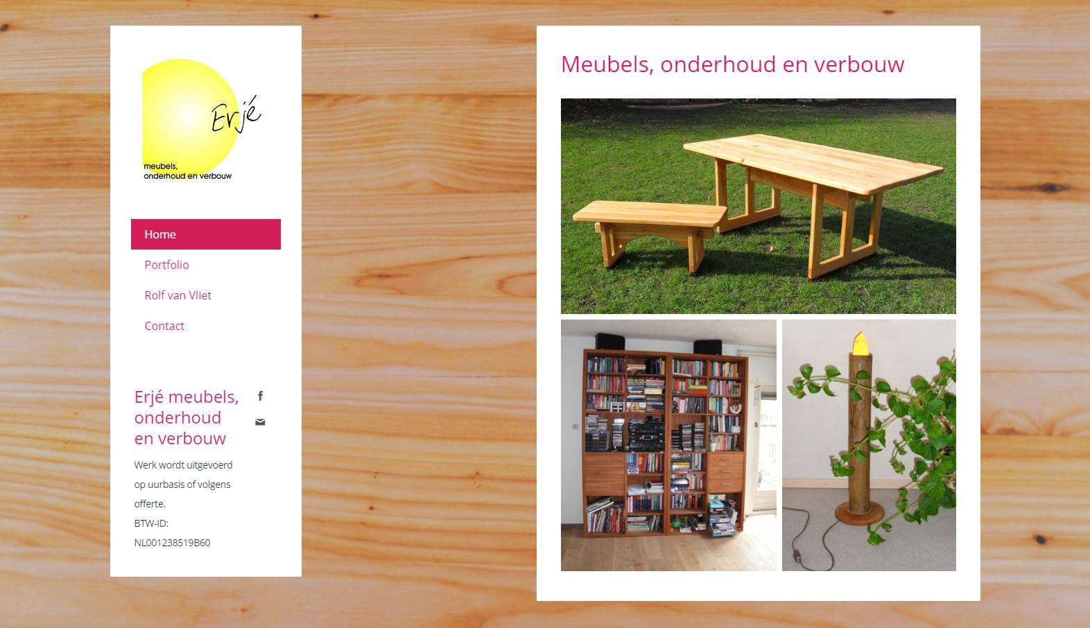 Erjé - meubels, onderhoud en verbouw