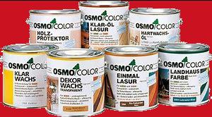 植物油を原料とした自然塗料オスモ