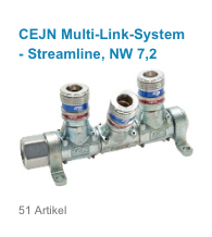 CEJN Multi-Link-System - Streamline, NW 7,2