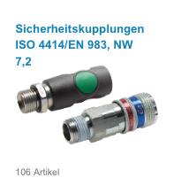 Sicherheitskupplungen ISO 4414/EN 983, NW 7,2