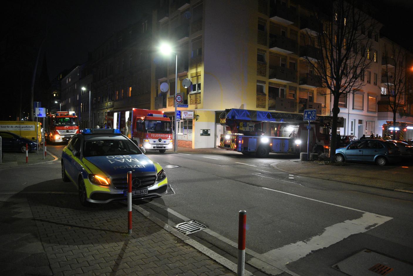 Mannheim-Neckarstadt: Brand in Gaststätte - Brandursache unklar