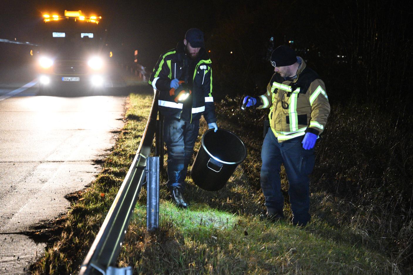 Hockenheim: Krötenwanderung über die Autobahn - Tierrettung Rhein-Neckar rettet knapp 100 Erdkröten vor dem Tod