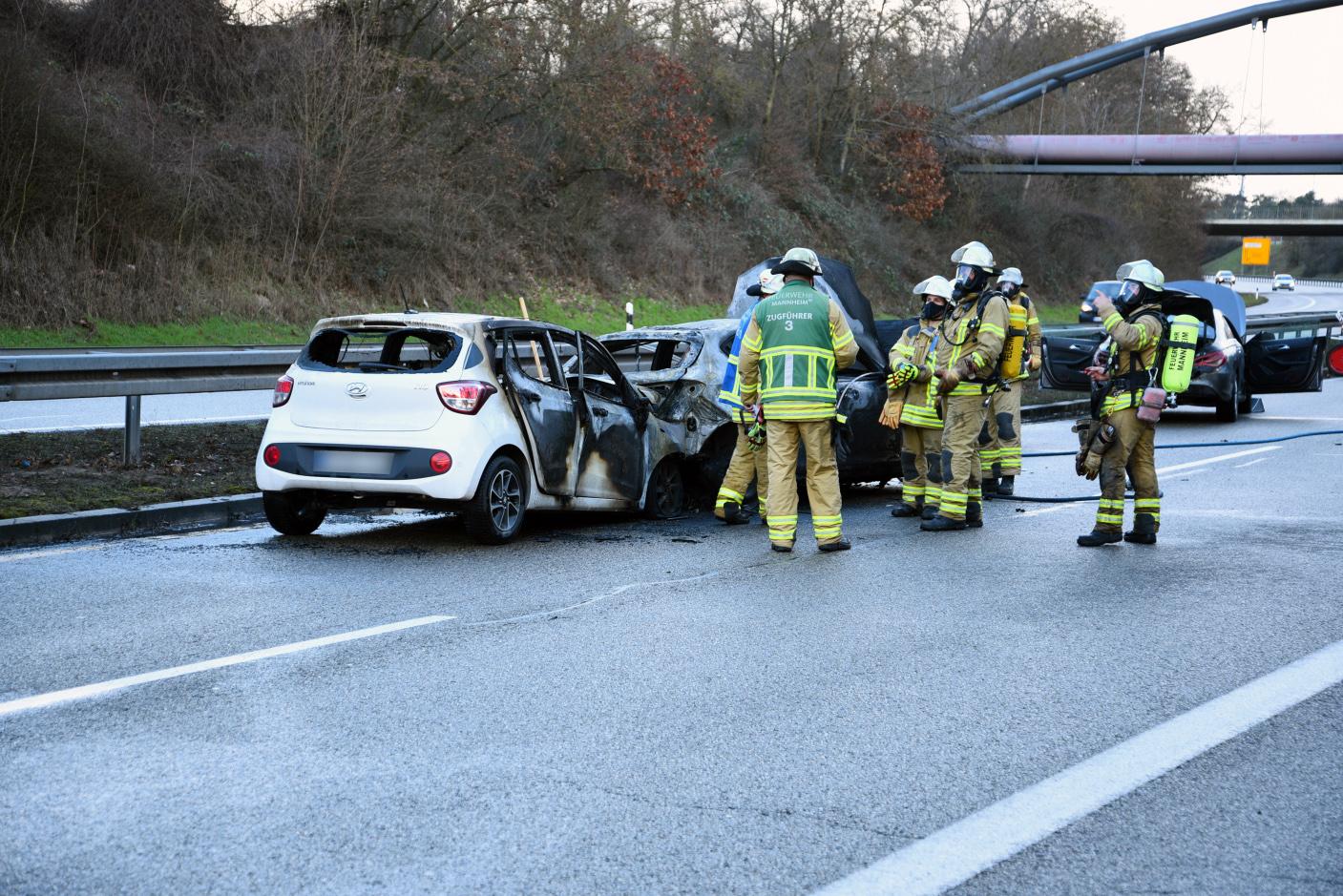 Mannheim-Rheinau: Schwerer Unfall auf B36 - Unfallverursacherin nach Aufruf in sozialen Medien ermittelt
