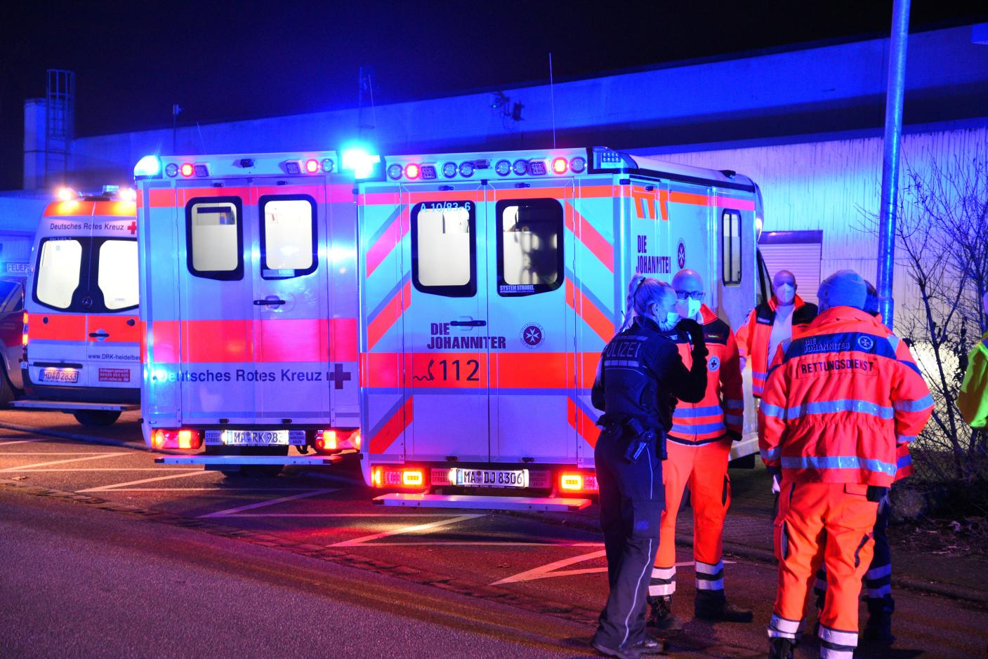 Schwetzingen: Vier Verletzte und 100.000,- Euro Sachschaden bei Zimmerbrand