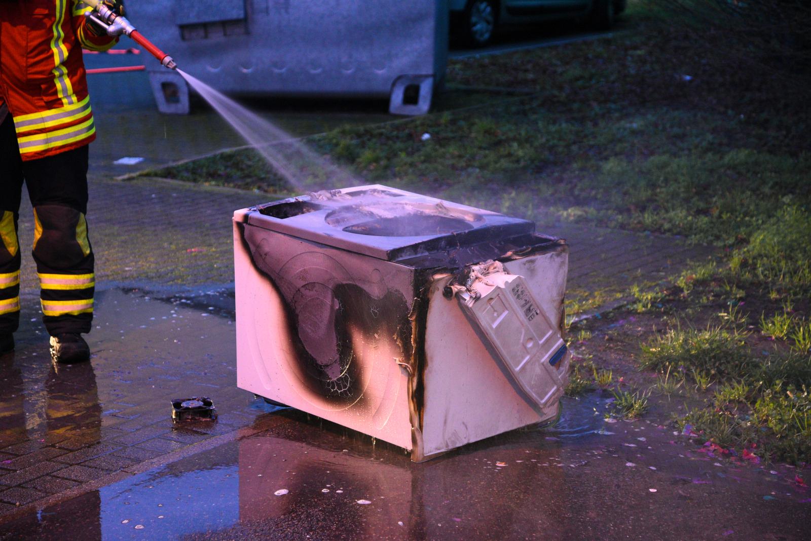 Bad Dürkheim: Brand eines Trockners