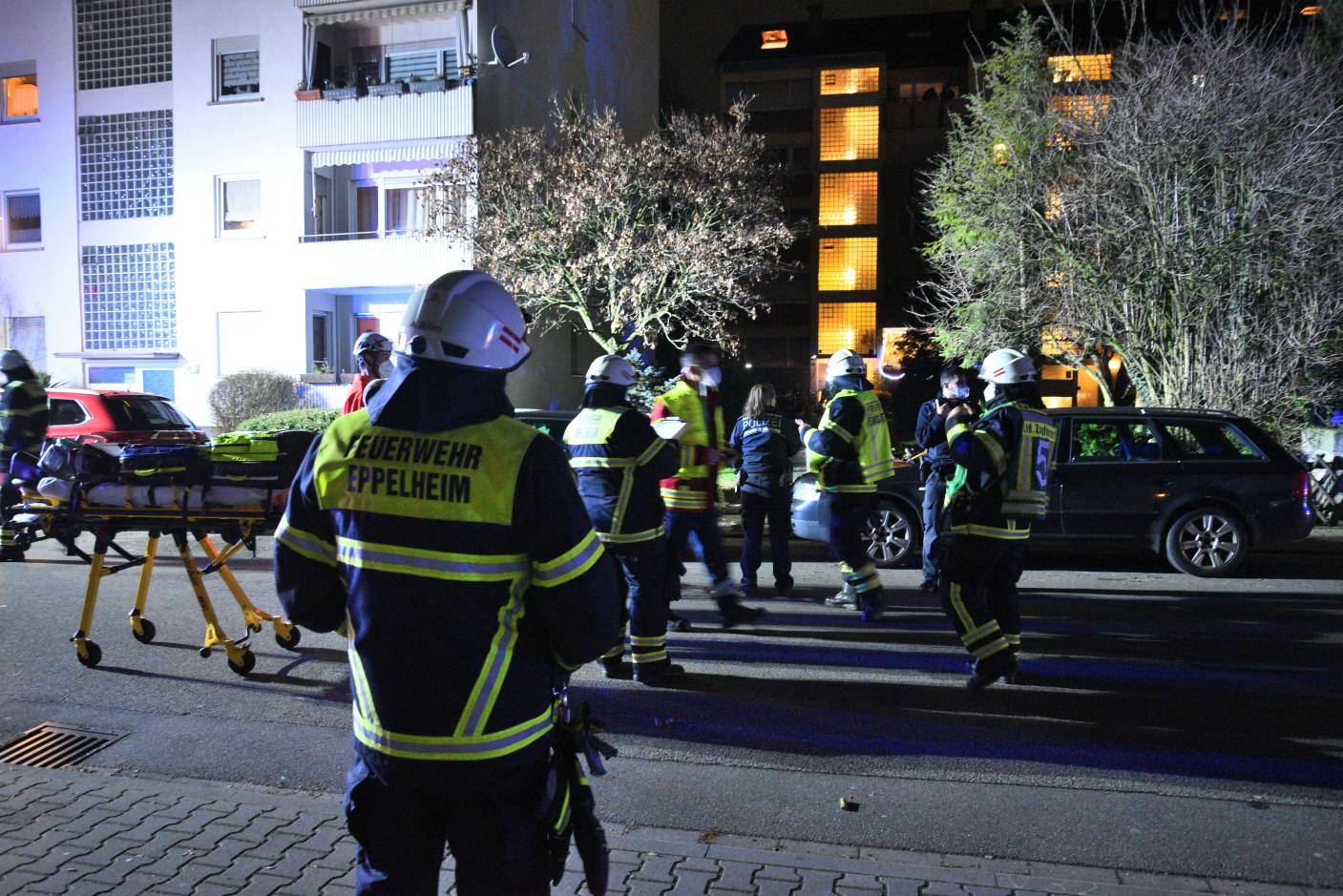 Eppelheim: Vergessene Kerze löst Brand aus