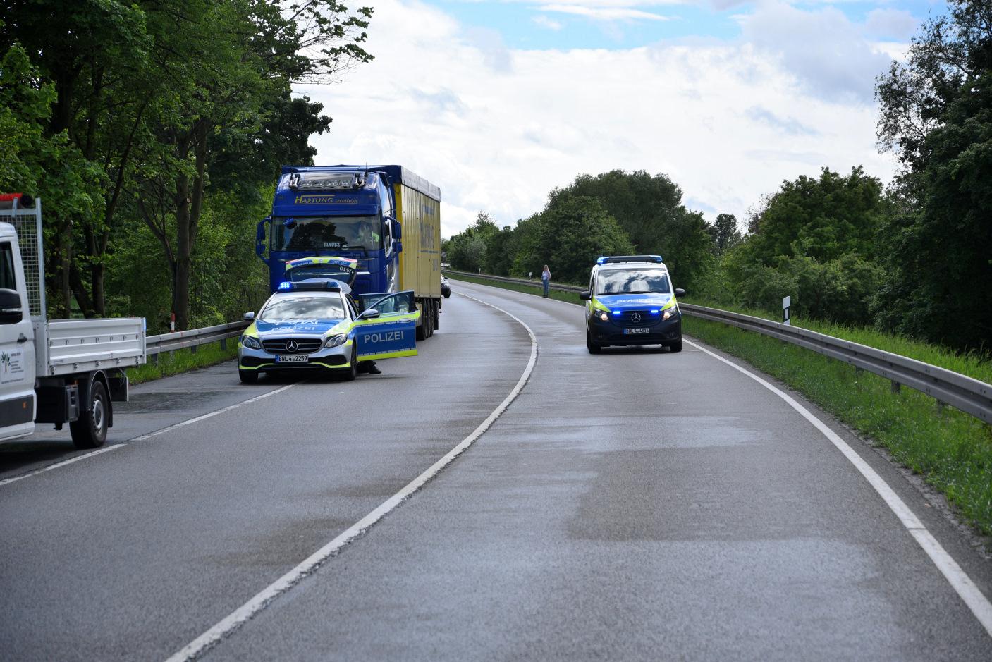 Weinheim: Frontalzusammenstoß auf Westtangente - zwei Schwerverletzte