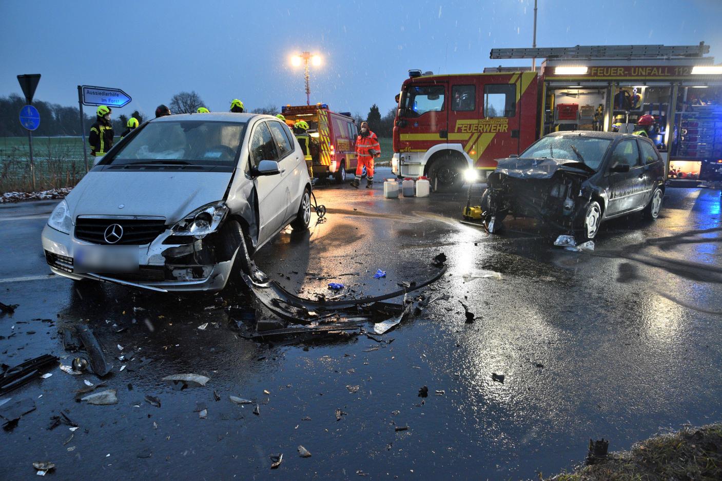 Schwetzingen: Schwerer Verkehrsunfall  auf der Ketscher Landstraße