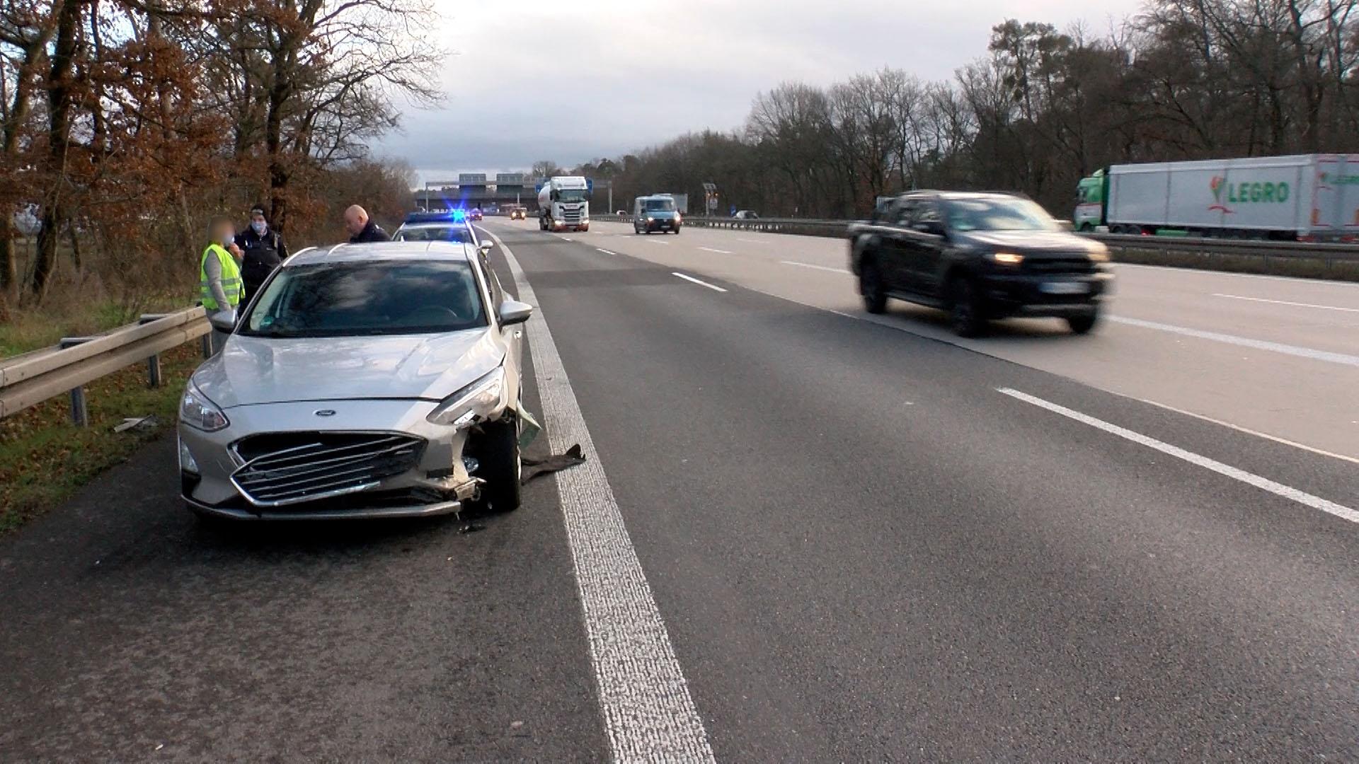 Hockenheim: Wildschweine auf A 6 verursachen mehrere Verkehrsunfälle