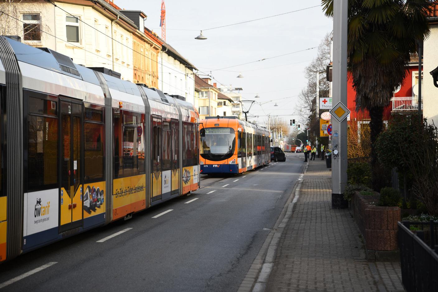 Heidelberg-Rohrbach: Verkehrsunfall führte zu starken Verkehrsbehinderungen im Frühverkehr