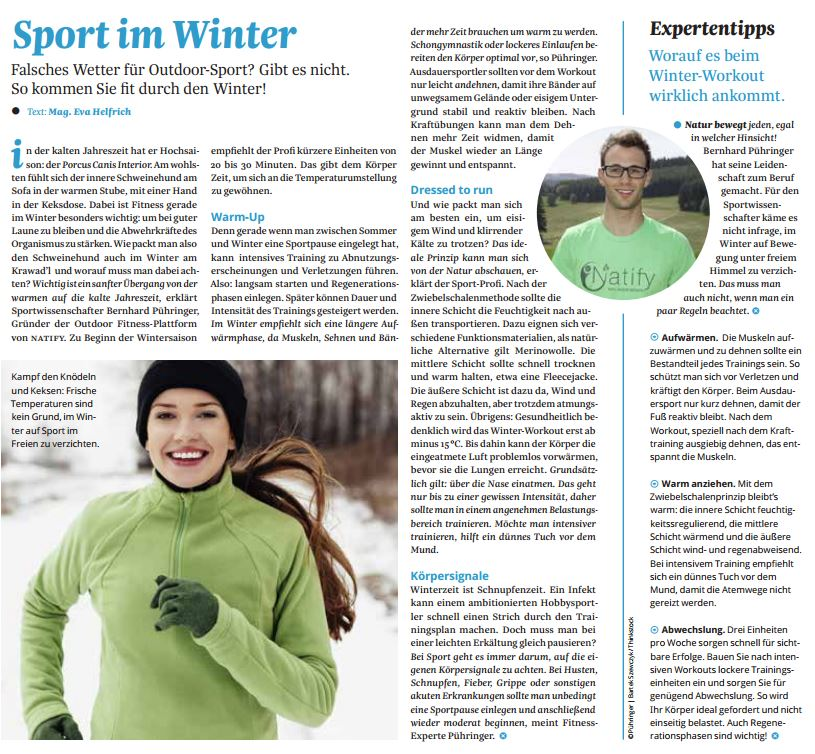 Natify - Sport im Winter