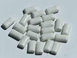 chewing-gum à la menthe