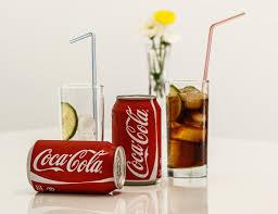 verre de soda coca cola