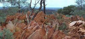 les roches des Jack Hills