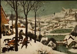 Les chasseurs dans la neige Pieter Brueghel l'Ancien