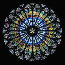 rosace cathédrale de Strasbourg