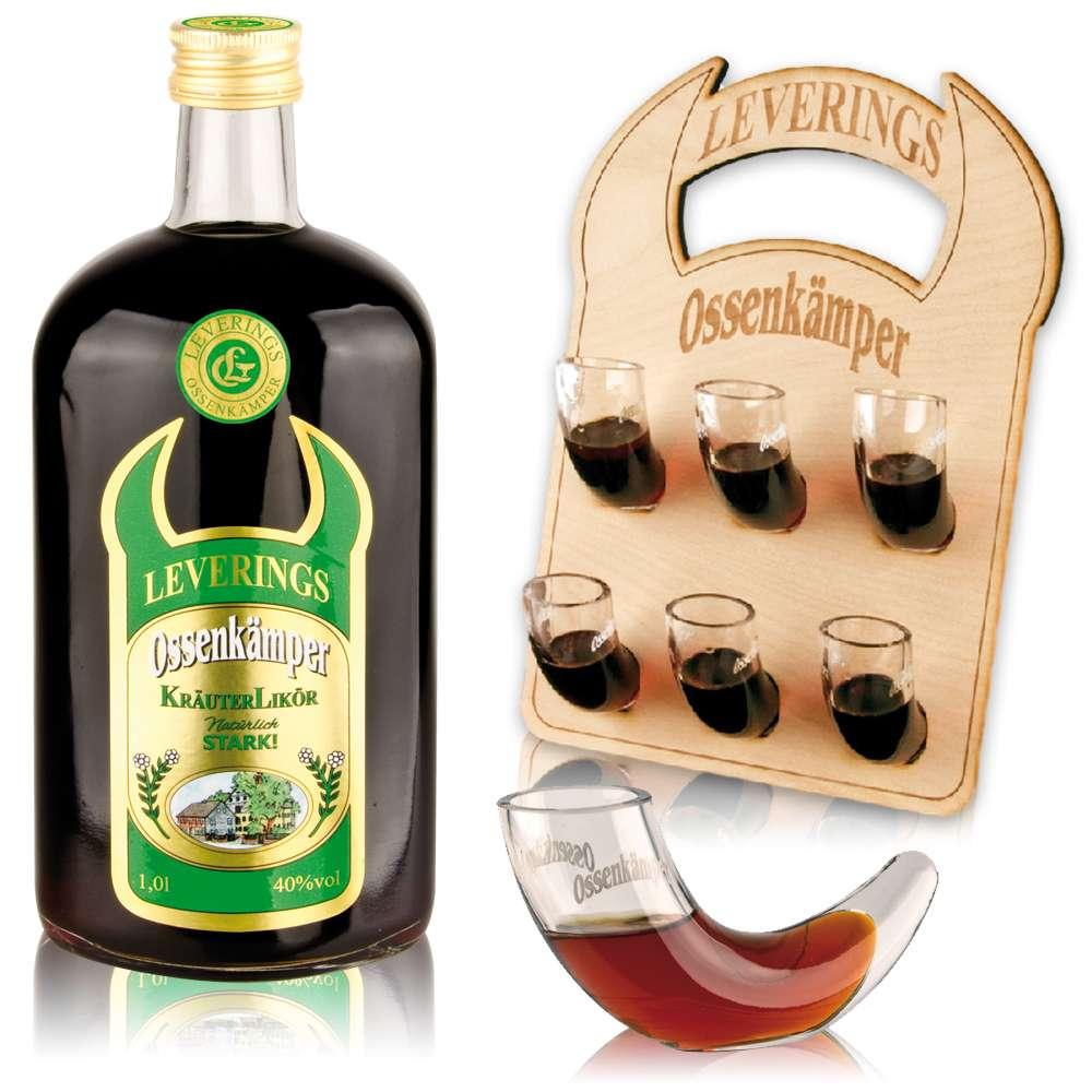 Ossenkämper liqueur aux herbes  0,7l - 40%vol.