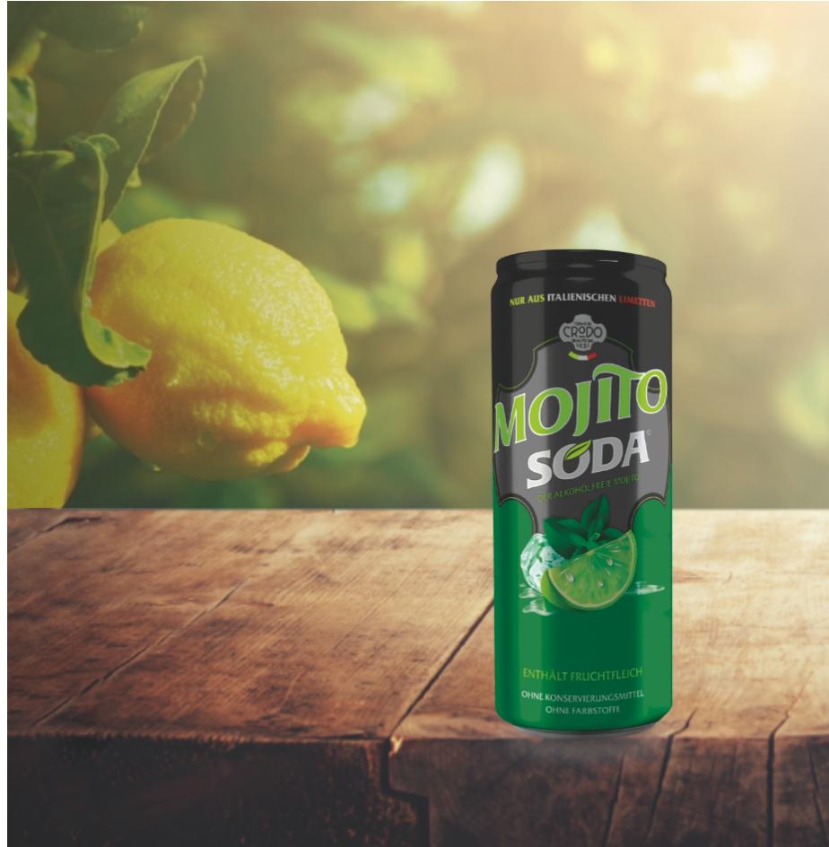 Lemon Soda - la boisson gazeuse populaire d'Italie - NOUVEAU aussi sous forme de mojito!