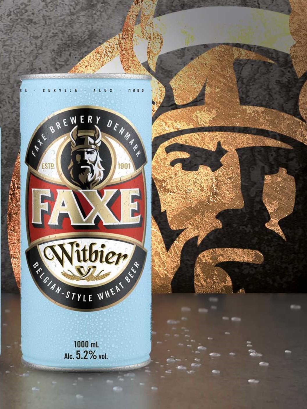 FAXE bière - la bière de blé de l'emblématique bière Viking