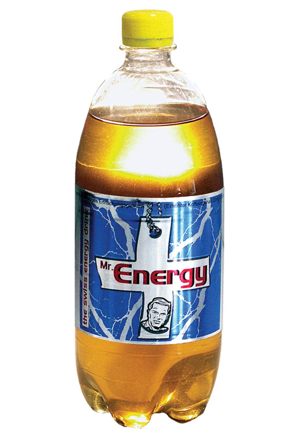 Mr. Energy 1.0 L PET - made in Switzerland