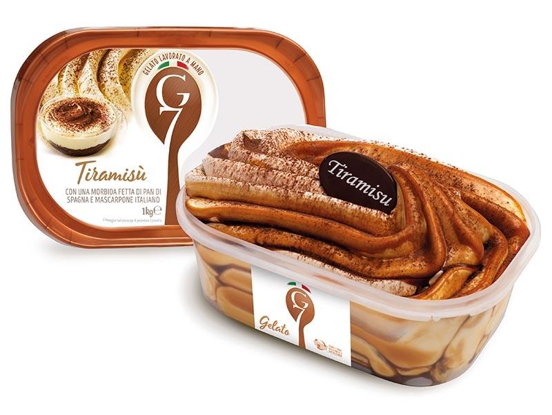 G7 - Gelati: grande variété, goût merveilleux, qualité la plus élevée