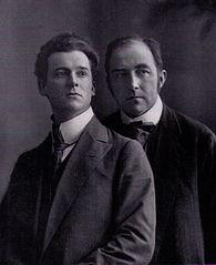 Wiki: Friedrich Wolters (links) mit Berthold Vallentin