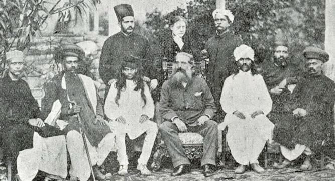 Blavatsky und Olcott 1881 in Bombay