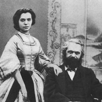 Karl Marx mit Jenny geb. von Westphalen