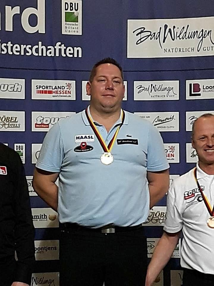 Wir gratulieren Markus Kamuf zum deutschen Meister im 8-Ball! 08.11.2017