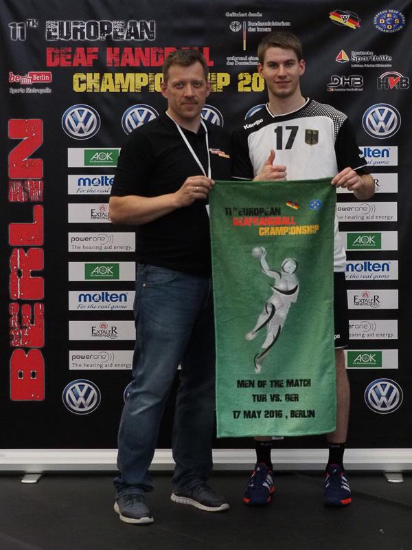 Unser Mitglied des GSV Trier Sebastian Klein Bester Torschützer