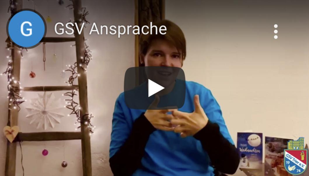 GSV Weihnachtsgruß (Video)