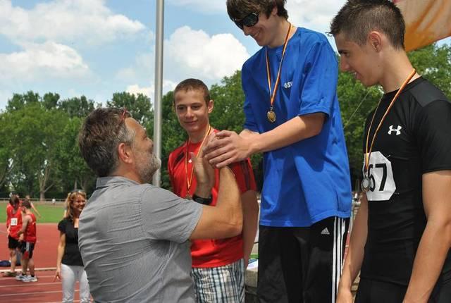 Niklas Mang (GSV Trier)  3 Goldmedaille und 1 Silbermedaille
