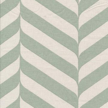 besch. Baumwolle Au Maison - Design: Henri - Farbe: verte