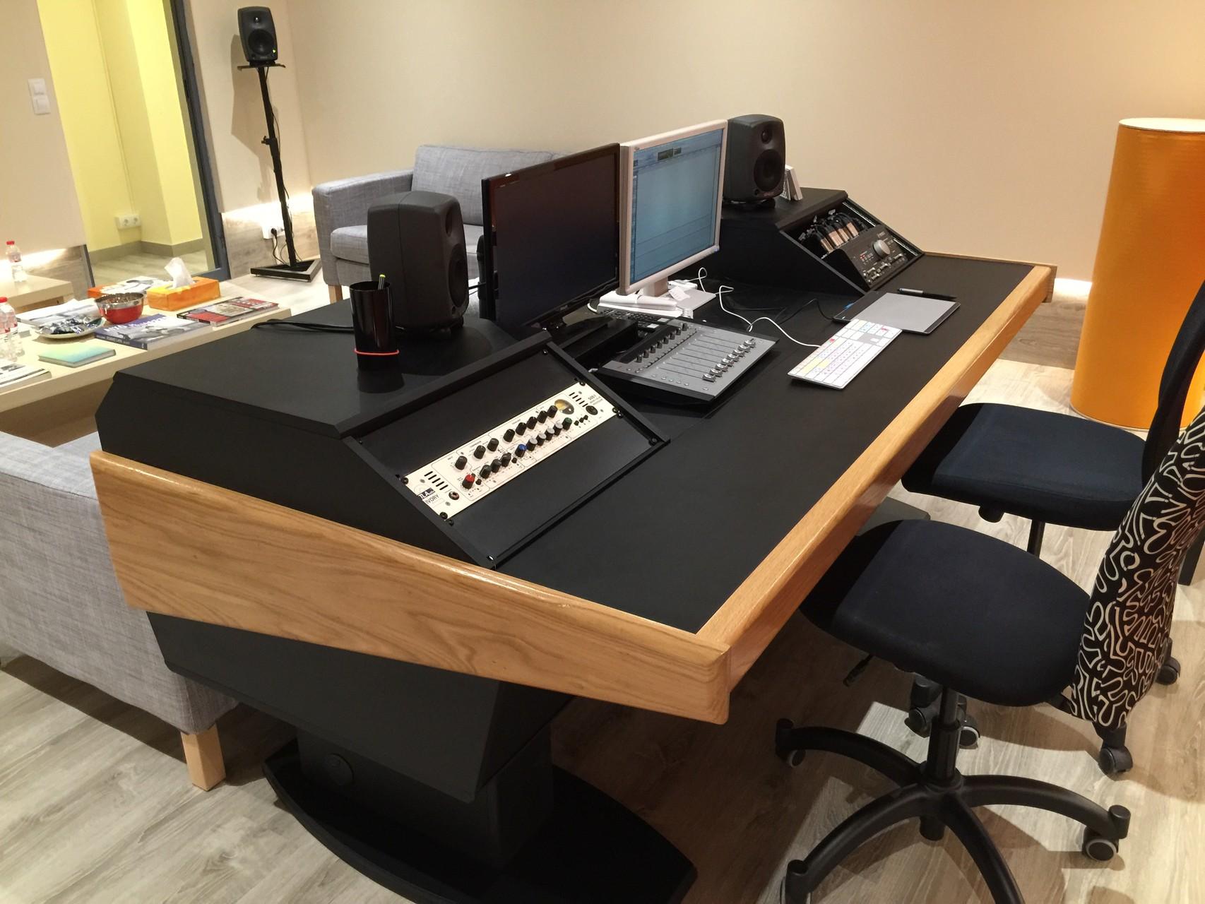 mobiliario para estudios de grabaci n bram modular