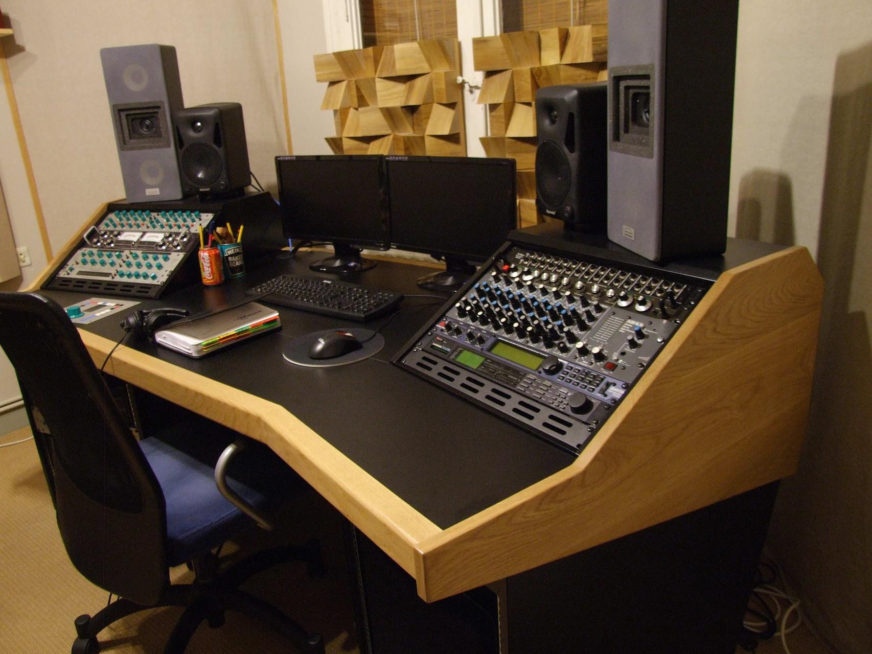 Mobiliario para estudios de grabaci n bram modular - Muebles de estudio ...