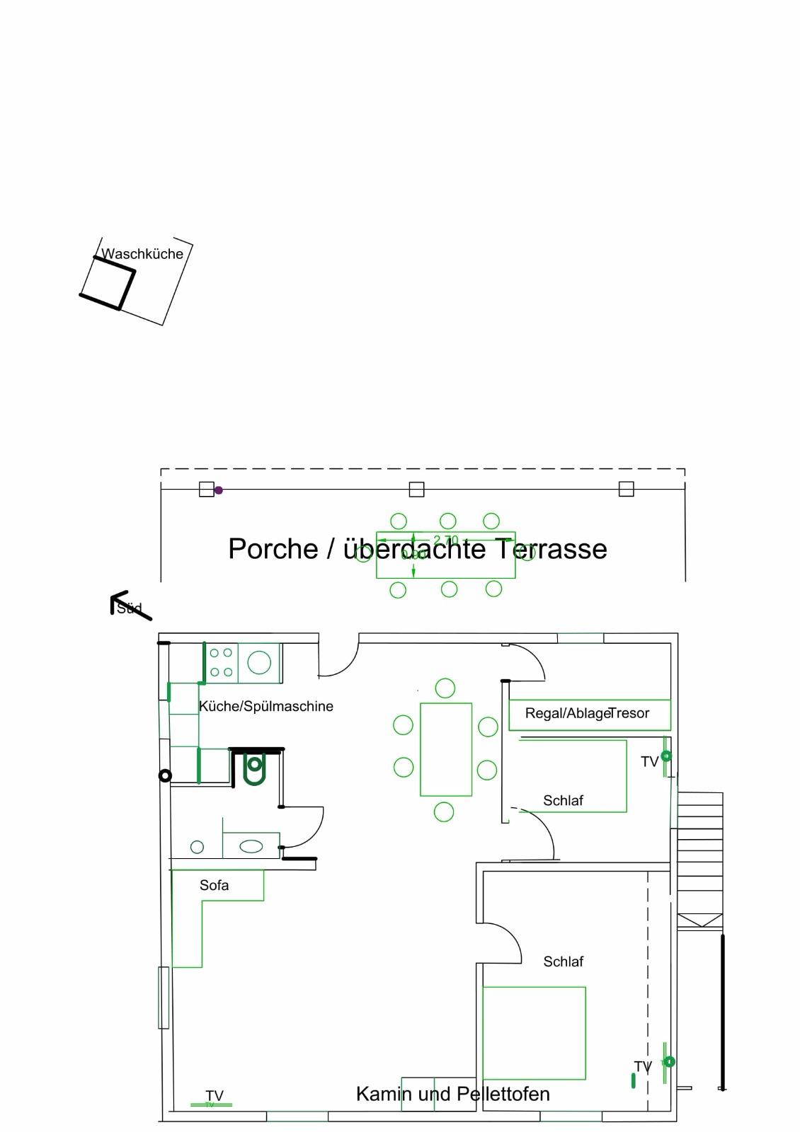 mapa de habitaciones