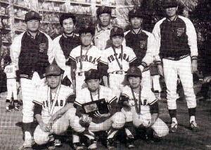 第12期生    昭和63年  松戸市夏季大会 準優勝