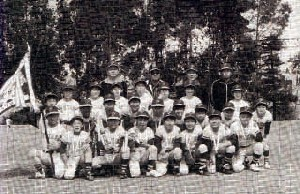 第2期生    昭和53年  双葉町会から離れ独立チームとなる。   常牧大会 優勝
