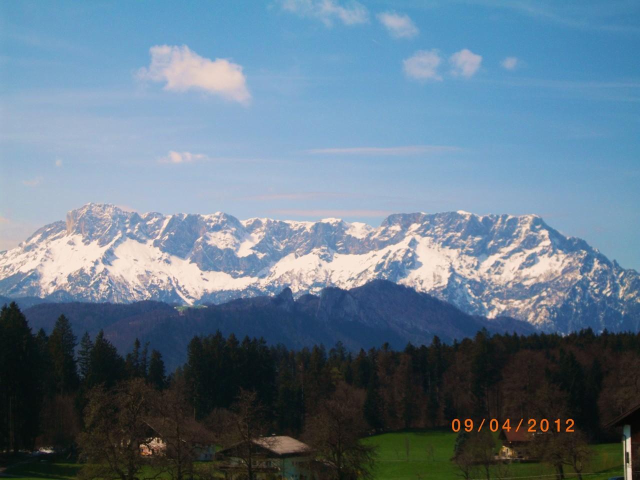Der Untersberg - Ansicht Südost