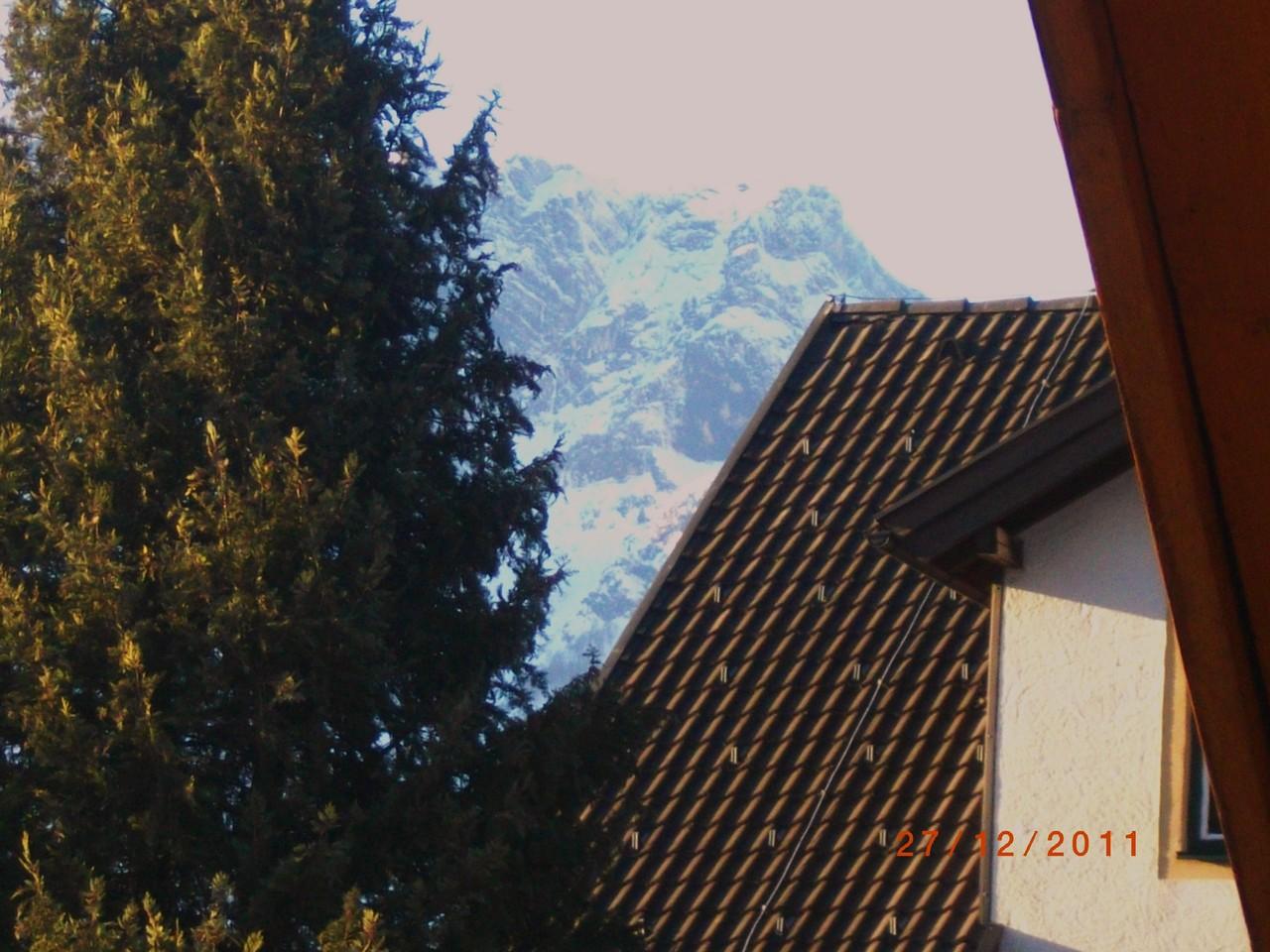"""Der """"Untersberggeist"""" von meinem Balkon aus"""