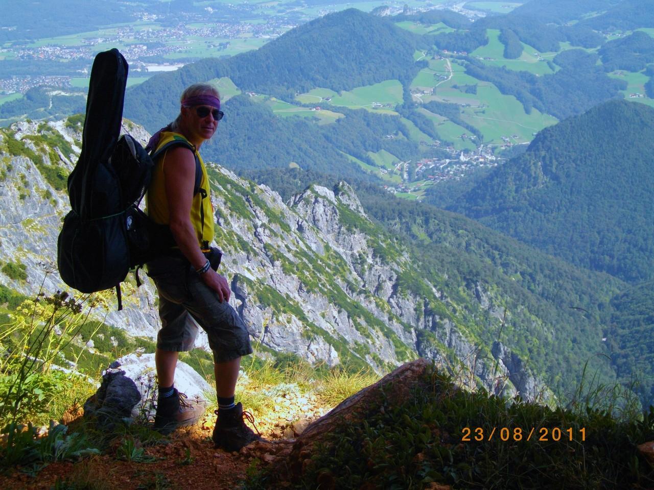 Am Untersberg - Blick südöstlich