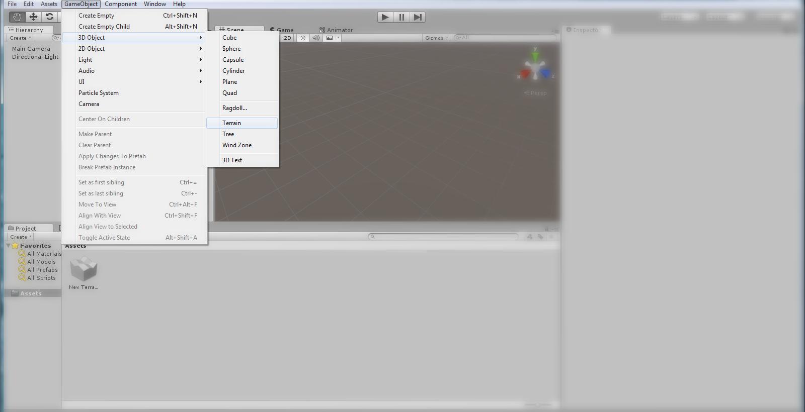 Unity Terrain Detail Object