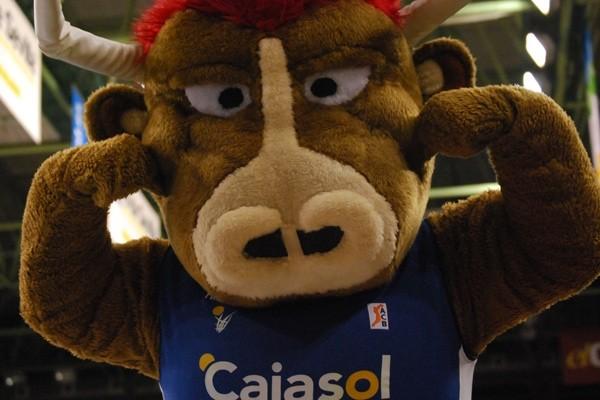 MASCOTA JERONIAMO (CAJASOL BALONCESTO SEVILLA)