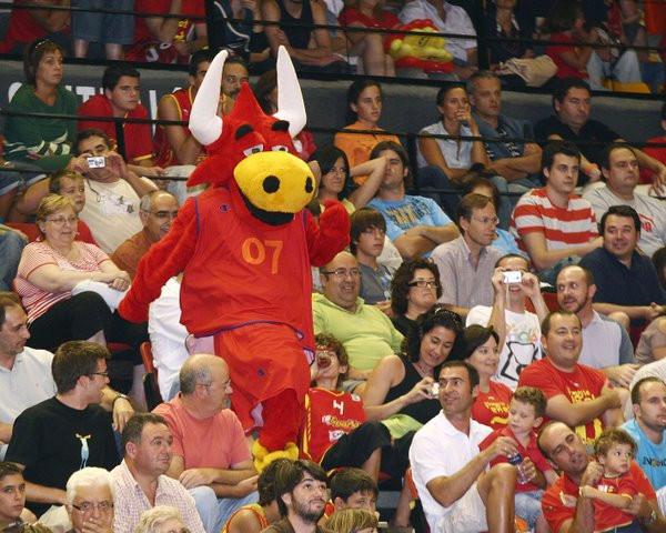 Mascota Bravo (Eurobasket'07 Madrid)