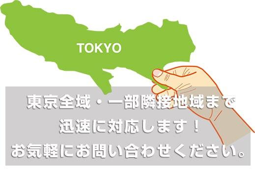 東京の不用品回収ユニバーサルサポートは東京都練馬区・板橋区・杉並区・三鷹市・武蔵野市・調布市・国立市・府中市・西東京市・小平市・小金井市、その他の地域も迅速対応
