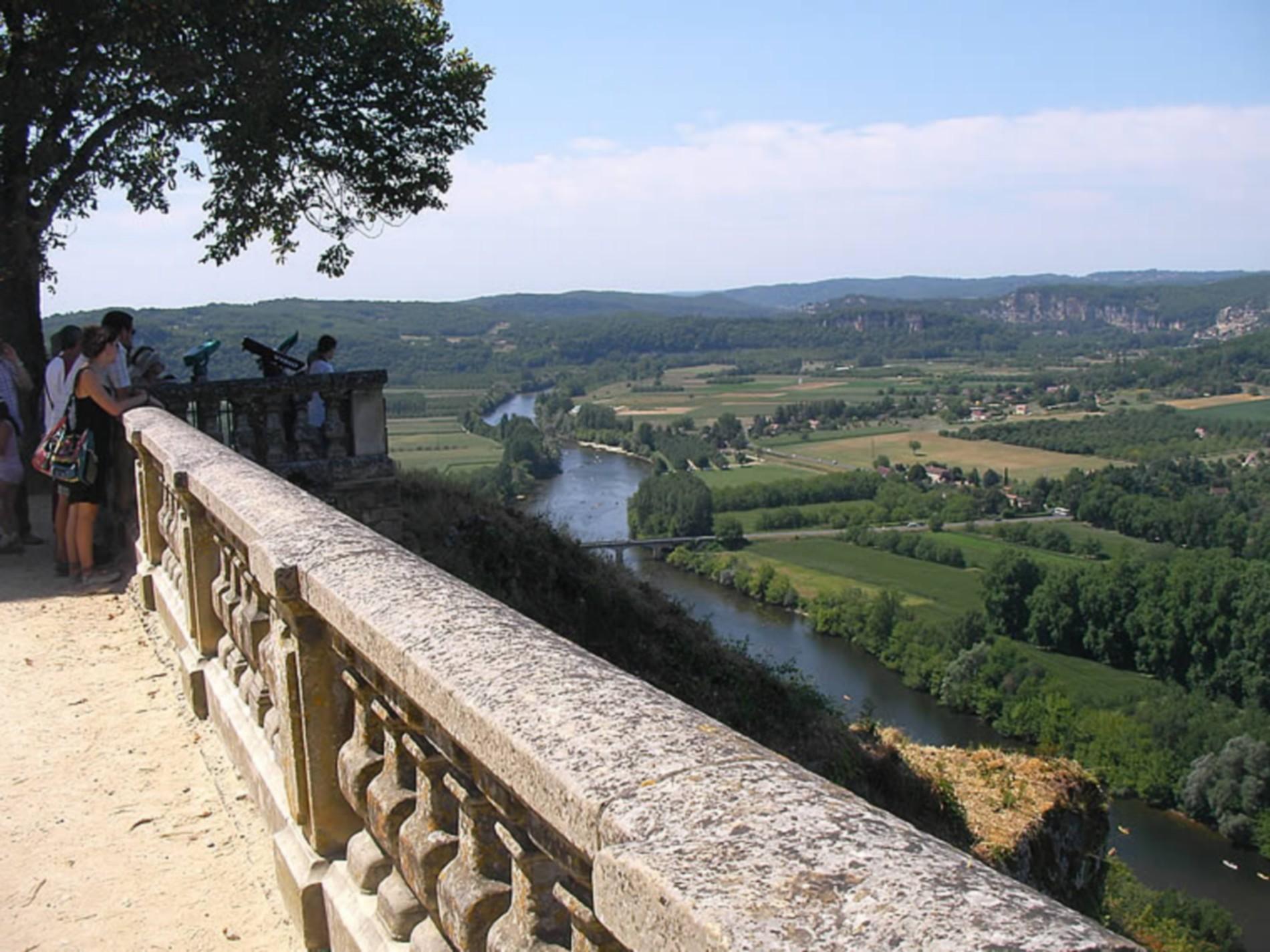 Panorama sur la Dordogne
