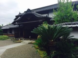 교부테이라는 일본 무사의 집이 복원 되어 있는 장소도 가 보았습니다.