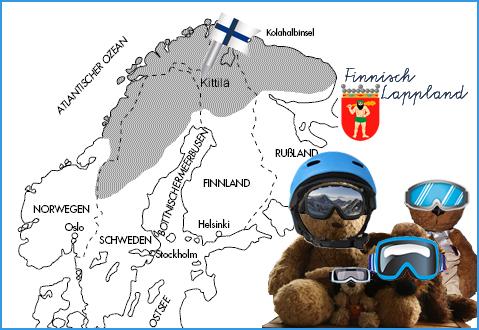 Kasimir, Cäsar, Fredi und Kerl in Finnisch - Lappland