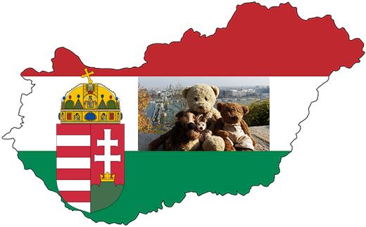 Kasimir, Cäsar, Fredi und Kerl in Budapest, Ungarn